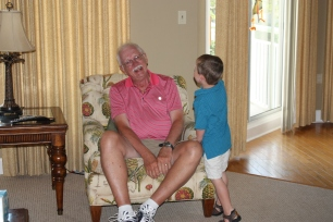 Goofy times with Grandpa!