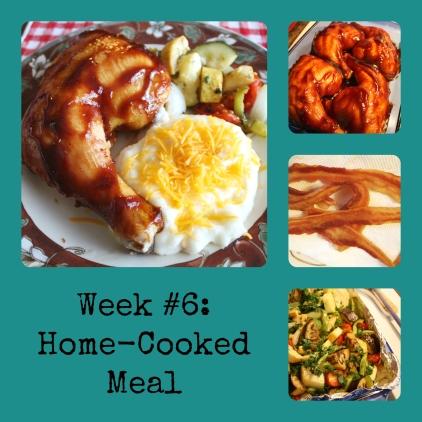 Week 6 meal